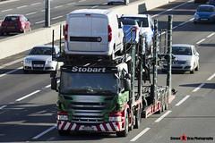 Scania P440 6x2 Car Transporter - PE13 CFM - Anna Louise - Eddie Stobart Automotive - M1 J10 Luton - Steven Gray - IMG_5034