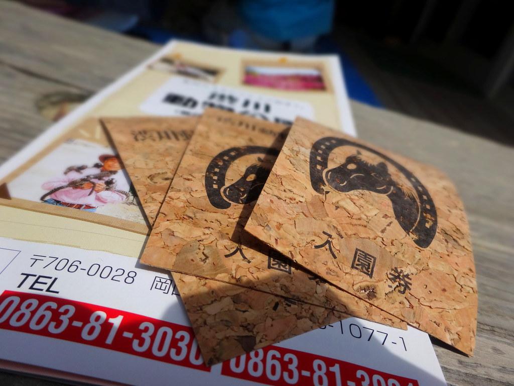 渋川動物公園入園券