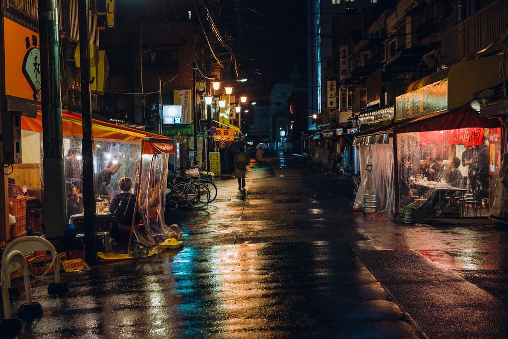 Ночная улица фото