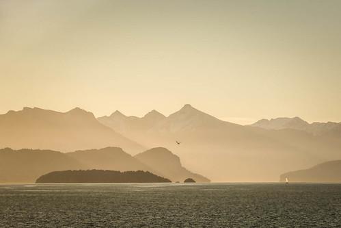 sunset patagonia lake argentina bariloche nahuelhuapi rionegro sancarlosdebariloche