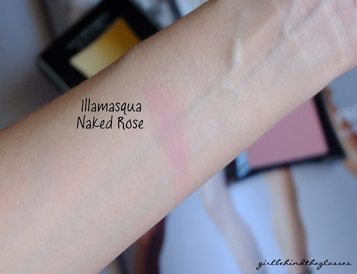 Illamasqua Naked Rose swatch