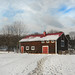 Snow-Covered Outbuilding