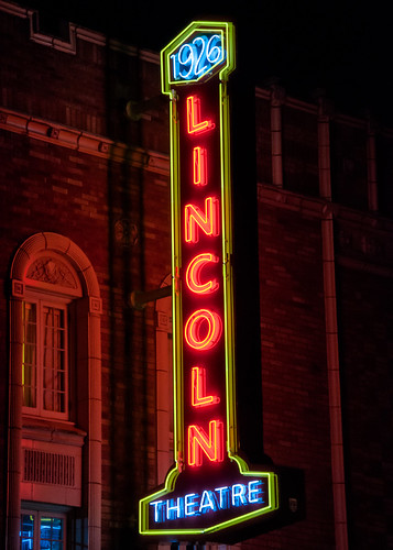 BYP52 2015 Week 4 ISO: Lincoln Theater at Night