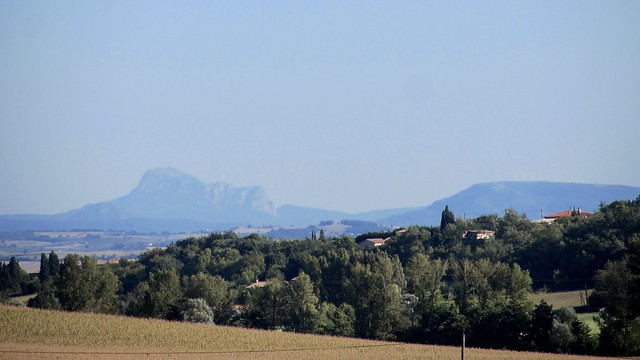 The Pyrenees from near Saint-Martin-Lalande