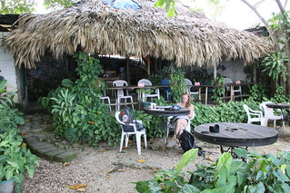 Cool Beans Cafe/bar.  Flores, Guatemala