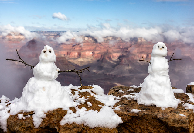 'Two Canucks visit the Grand Canyon'