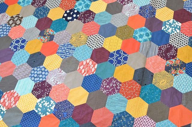 the giant giant hexagon quilt