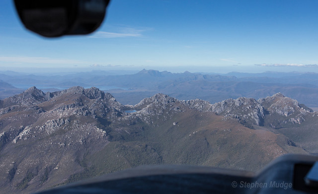 Western Arthurs from above