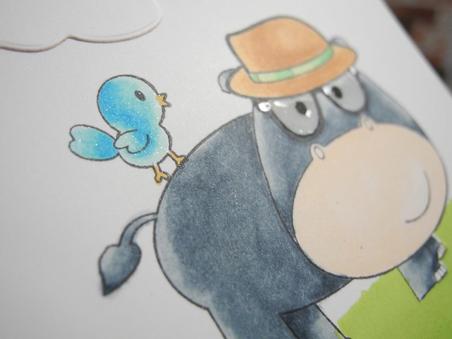 Hippo Birdie (detail)