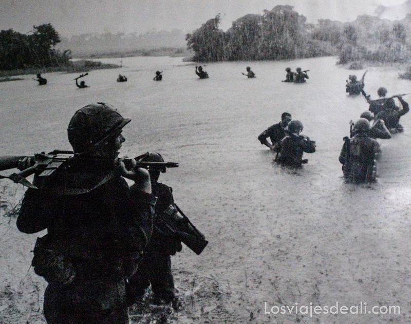 fotografía de la guerra de Vietnam