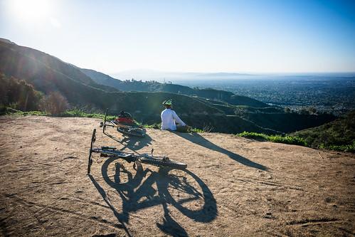 Valentine's morning on the #trail #mtb #mountainbiking #friends #bros #bikeride #bikeLA