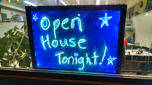 Open House at Makerspace 125, January 25, 2015