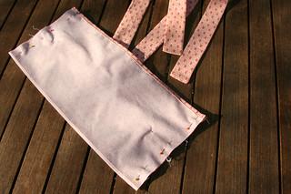 Tuto couture - bouillotte dorsale graines de lin - Etape 25