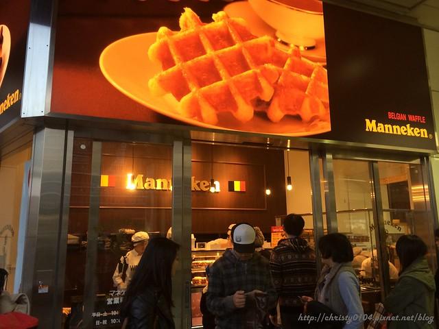 Manneken比利時鬆餅