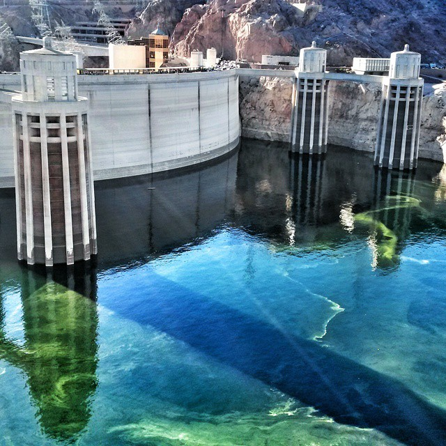 Hoover Dam, Arizona ja Nevada, USA
