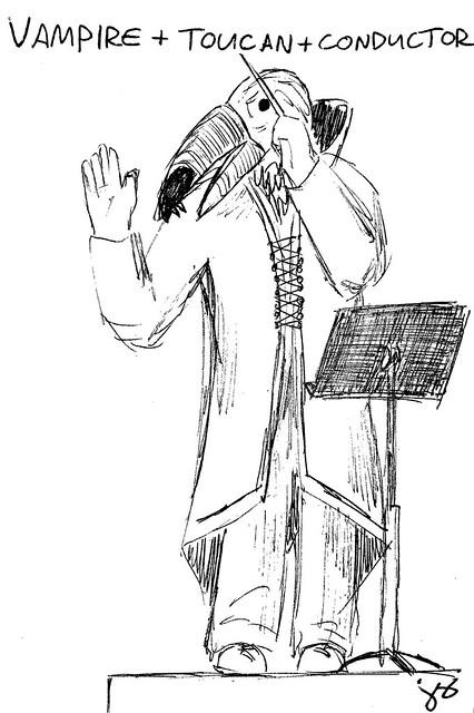 Vampire + Toucan + Conductor