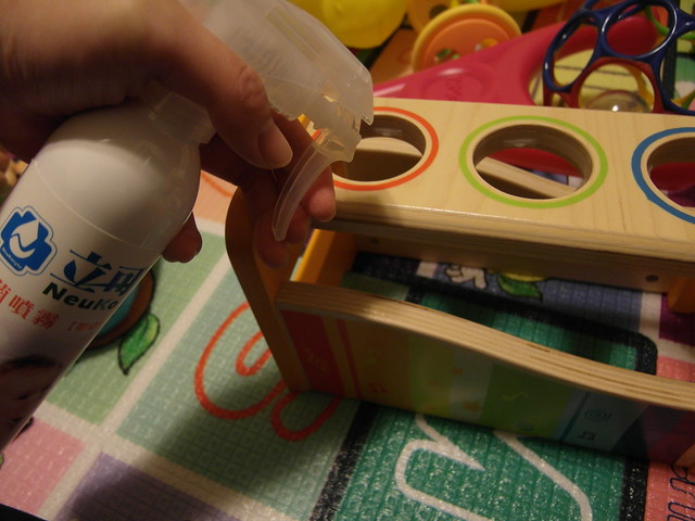 消毒玩具@立可適嬰幼兒用品專用抗菌噴霧
