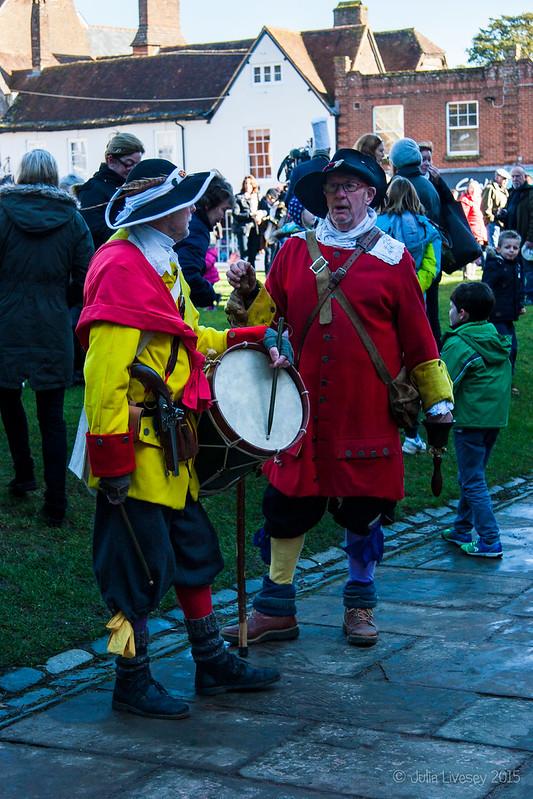 Wimborne Militia Men