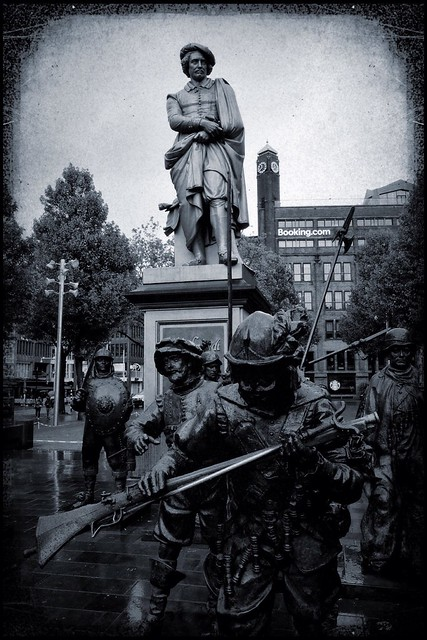 the night watch - rembrandtplein