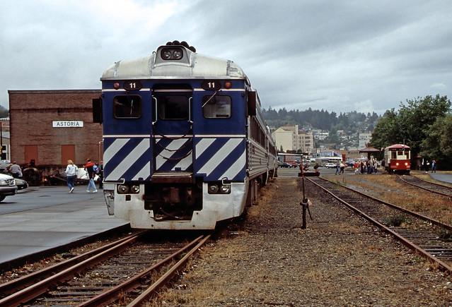 Lewis & Clark Explorer RDC #11 .  Astoria Oregon, September 30 2005.