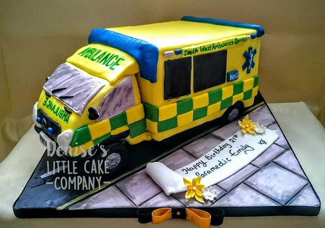 Ambulance Cake by Denise Stone