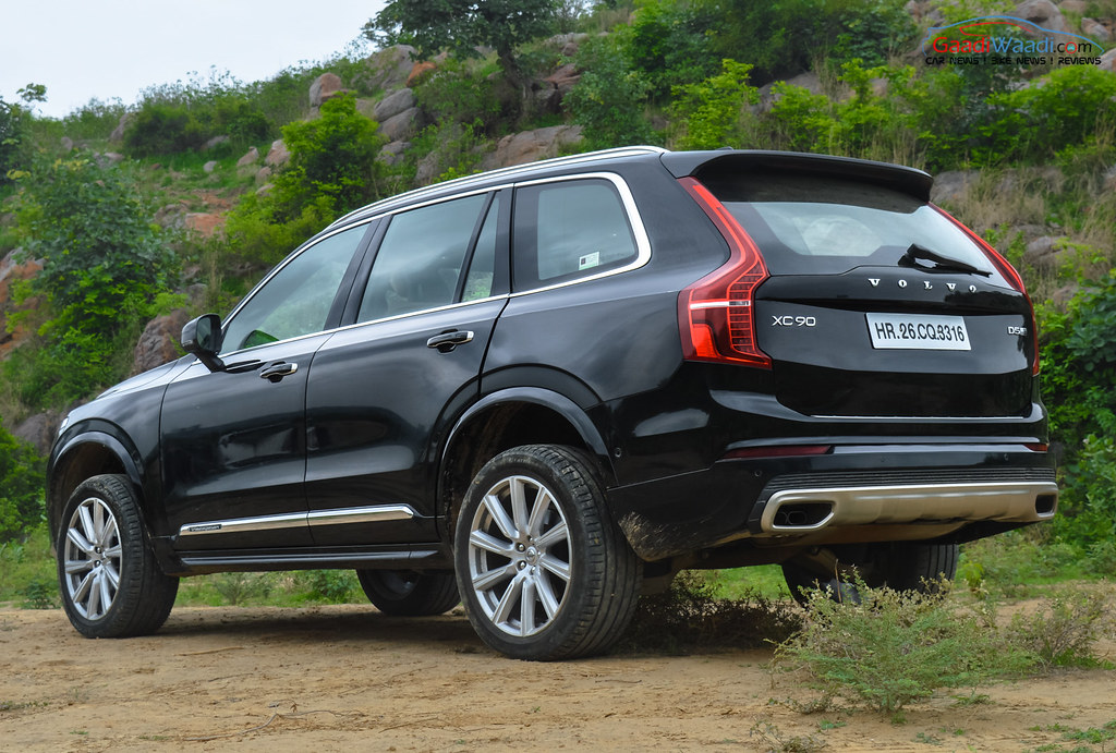 volvo xc90 India Review-47