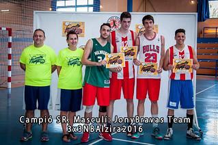 Campió SR. Masc. 3x3NBAlzira 2016