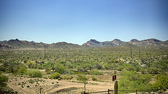 Landscape View Goldfield Ghost Town
