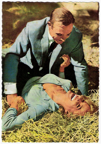 Sean Connery, Honor Blackman, Goldfinger