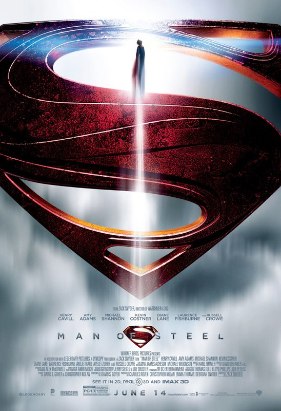 Man of Steel - Social Media Poster 1