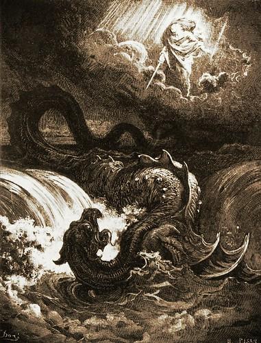 gustave Doré Le Leviathan