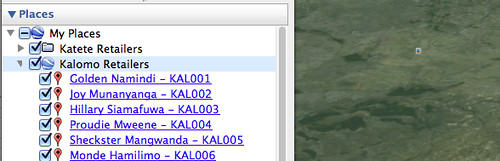 Google Earth Screenshot folder open