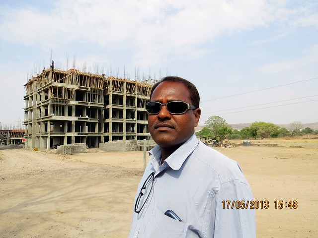Balasaheb Lagad, Chief Engineer & Project Manager of UrbanGram Pirangut at Ghotawade Chowk, Paud Road, Pune 412108