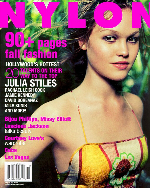 Nylon Magazine Julia Stiles