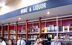 Wine & Liquor Section