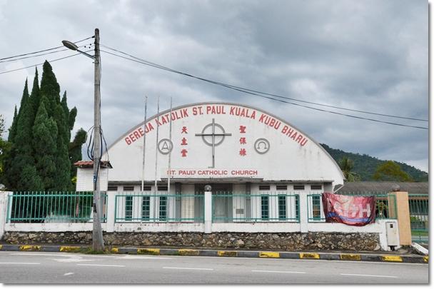 St Paul's Catholic Church Kuala Kubu Baru