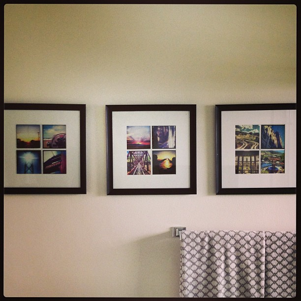 I turned my Instagram photos into decor. #decor #homesweethome #onthewall #photos #instagood #igdaily