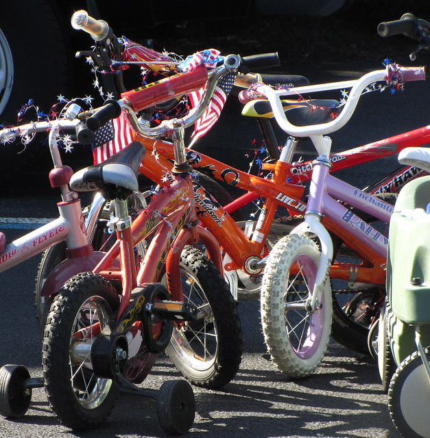 decorated bikes