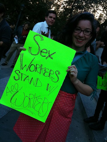 Sex workers stands with all workers | by Melissa Gira Grant