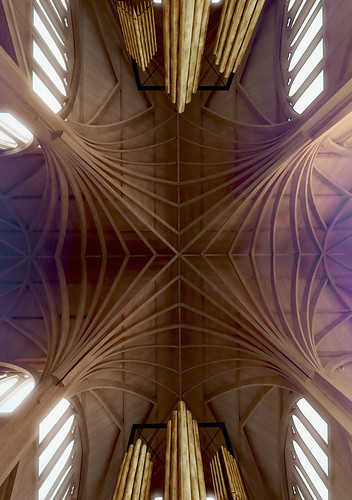 Christchurch Cathedral option 2 roof crossing