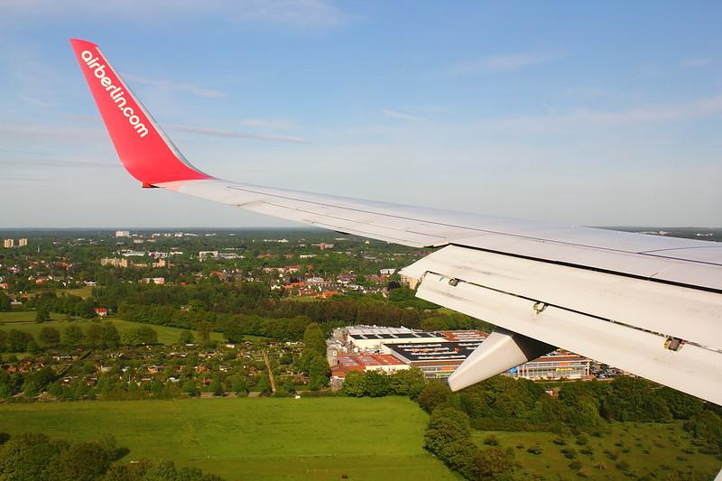 Approaching Hamburg
