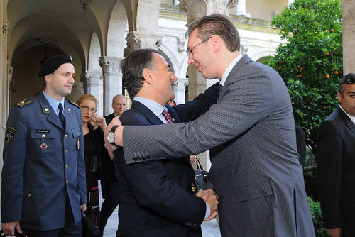 Frattini incontra Vucic in Sioi by Franco Frattini (Italy)
