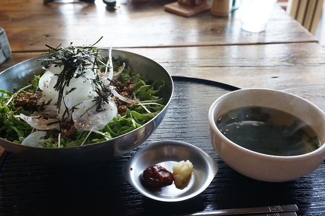 カルビ丼サラダ仕立て_DSC04430