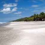 Endless Beach in Santa Teresa, Costa Rica