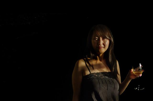 Helen with wine (2013)