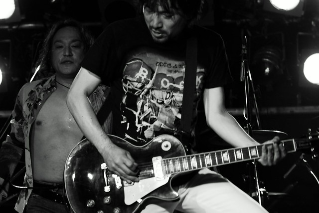 THE ELECTRIC EEL live at ShowBoat, Tokyo, 27 Jun 2013. 368