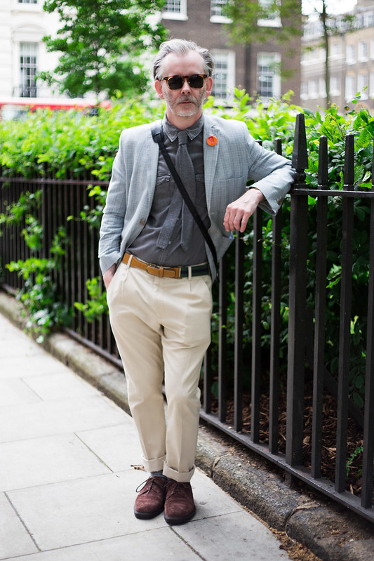 Street Style - Robert John Railton, London Collections: Men