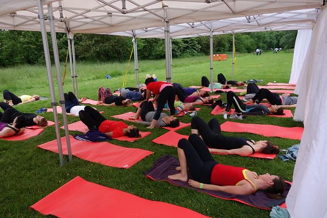 gloanna, yoga run