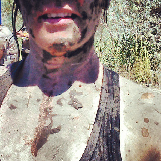I've got dirt in places I don't even want to discuss! #bestdayever #dirtydash