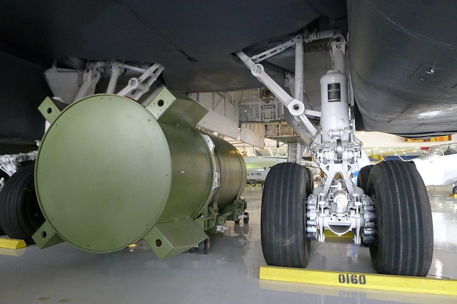 MK36 Thermonuclear Bomb under B-1A Lancer